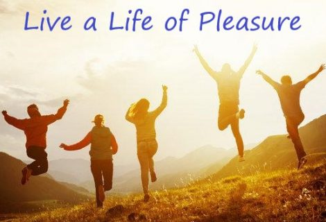 Live a Life of Pleasure